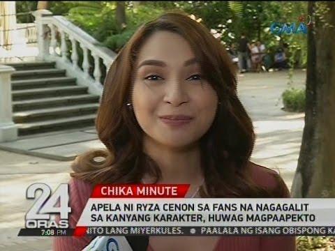 """24 Oras: Ryza Cenon, pinagbantaan ng ilang basher dahil sa kanyang pagganap sa """"Ika-Anim Na Utos"""""""