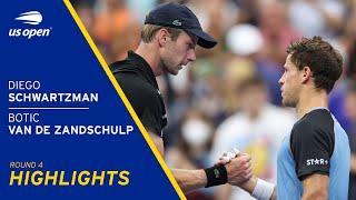Diego Schwartzman vs Botic Van De Zandschulp Highlights