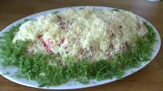 """Салат""""Летний""""/Праздничный салат из Простых продуктов"""