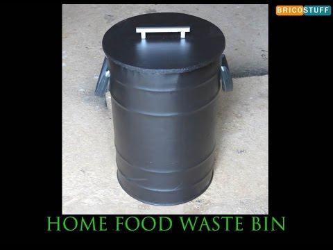 recyclage objet comment fabriquer une poubelle pour recycler les d chets alimentaires. Black Bedroom Furniture Sets. Home Design Ideas