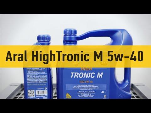 Aral HighTronic M SAE 5w-40 - видеообзор от автосервиса Oiler