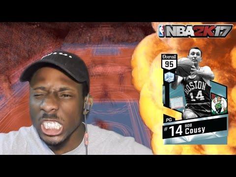 NBA 2K17 DIAMOND BOB COUSY GAMEPLAY!