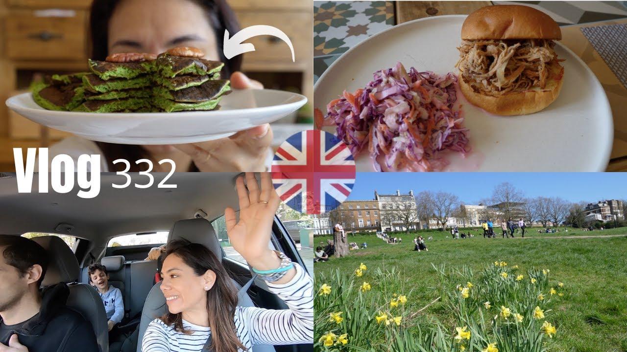 RICHMOND LONDRES paseo por el río + Receta de pancakes ¿verdes? / Mexicana en Londres