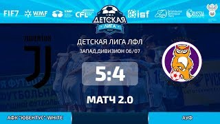 "Матч 2.0. Дивизион 06/07. АФК ""Ювентус""-White - АУФ. (2.06.19)."