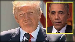 OBAMA ATTACKED TRUMP FOR PARIS DECISION, SO IMMEDIATELY TRUMP UNLEASHED HIS SECRET WEAPON