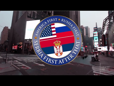America first, Russia also first, and Serbia first after that #everysecondcounts