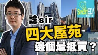 諗sir 四大屋苑邊個最抵買?|投資|【諗sir投資教室】