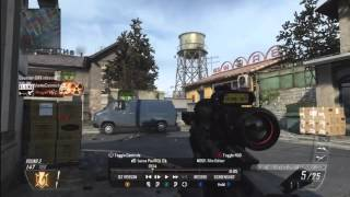 Black Ops 2 | 17 and 4 SND | +1v6 clutch ace HD