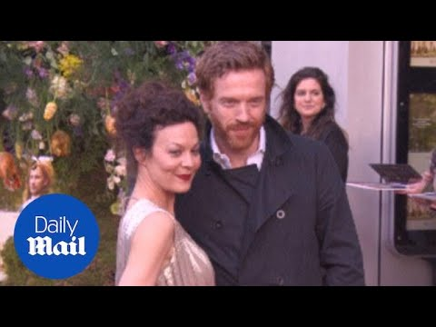 Damian Lewis lets his wife Helen McCrory take centre stage  Daily Mail