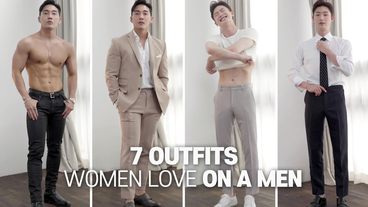 7 Things Men Wear That Women Love l Date outfits for man l 여자들이 좋아하는 7가지 남자 데이트 룩 !!