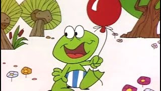 Plons de kikker - Plons de gekke kikker en de rode ballon