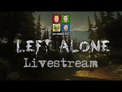Left Alone στο σχολείο Livestream