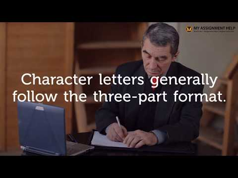 How To Write Character Reference Letter - 09 Quick Tips