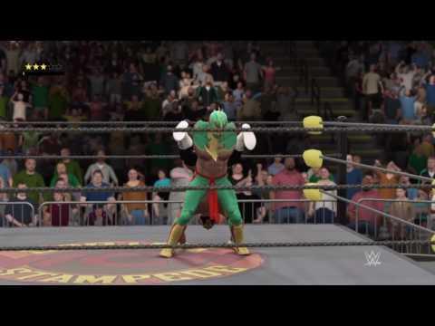 WCW2K17 WCW Spring Stampede 97 Match 1 Ultimo Dragon vs Rey Mysterio Jr