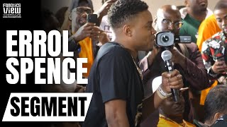 Errol Spence Jr. asks Jermall Charlo Why CANELO & GGG Are Ducking Him (ERROL SPENCE THE JOURNALIST!)