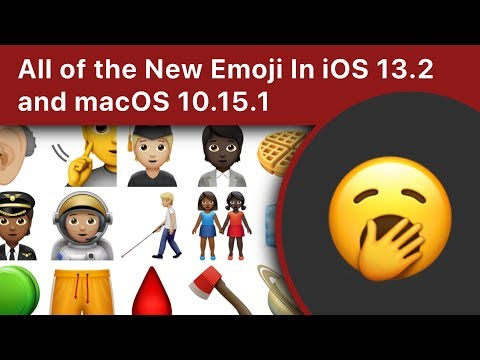 All Of The New Emoji In IOS 13.2 And MacOS 10.15.1