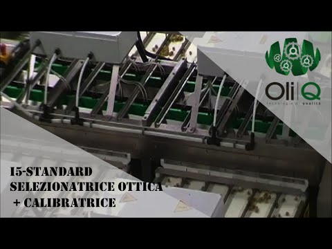 oliQ - Selezionatrice Ottica + Calibratrice ottica olive