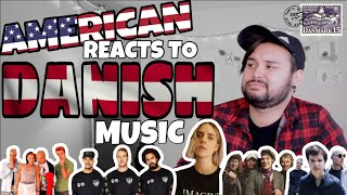 American REACTS // Danish Music