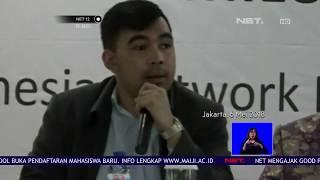 Hasil Survei Elektabilitas Jokowi dan Prabowo - NET 12