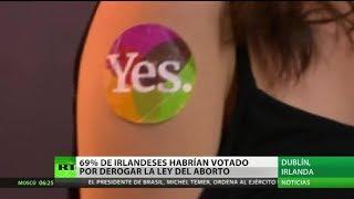 Irlanda vota a favor de la reforma a la ley del aborto