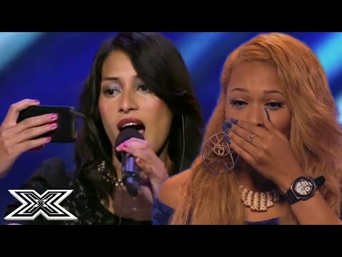 When X Factor Contestants Don't Know The Words!!! | X Factor Global