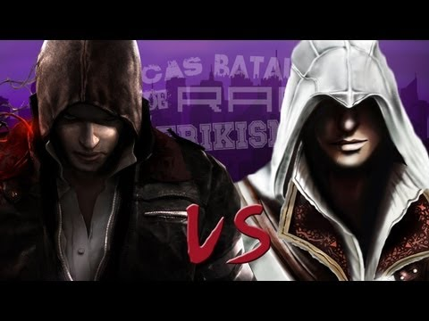 Alex Mercer vs Ezio Auditore. Épicas Batallas de Rap del Fri