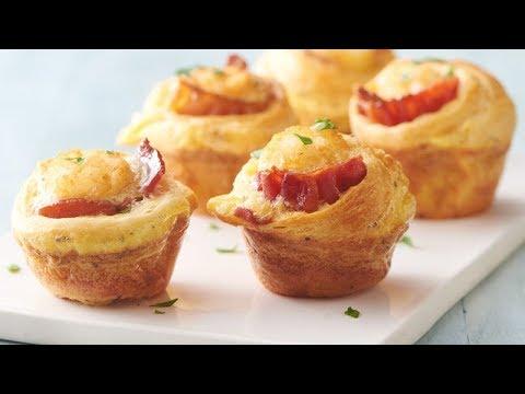 Bacon-Egg Breakfast Bites   Pillsbury Recipe