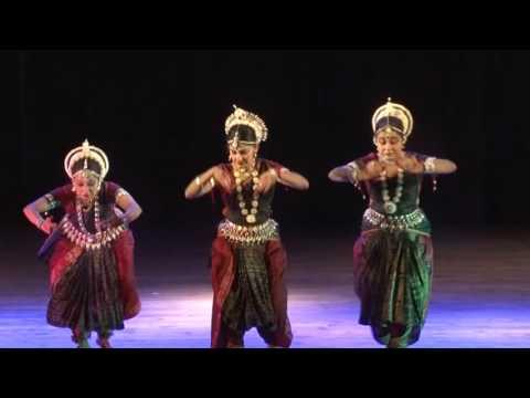 Dasa Mahavidya by Odissi dancer Shatabdi Mallick and her disciples