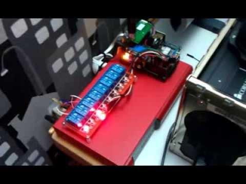 Raspberry Pi SSH home appliance control system