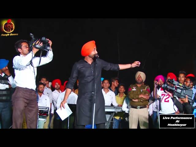RANJIT BAWA | TAPPE | LIVE PERFORMANCE AT HOSHIARPUR 2015 | OFFICIAL FULL VIDEO HD