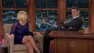 Carrie Keagan on Craig Ferguson 11/11/13
