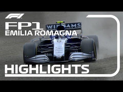 FP1 Highlights | 2021 Emilia Romagna Grand Prix