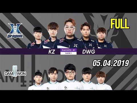 Bình luận tiếng Việt LCK 2019 Playoffs   KZ vs DWG FULL Highlights   Đẳng cấp hoàn toàn khác biệt