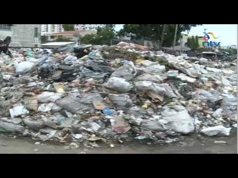 Mombasa residents irked by uncollected garbage in the county