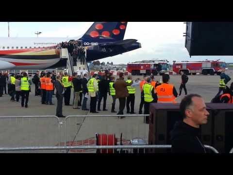 Croatia-Belgium departure of the players