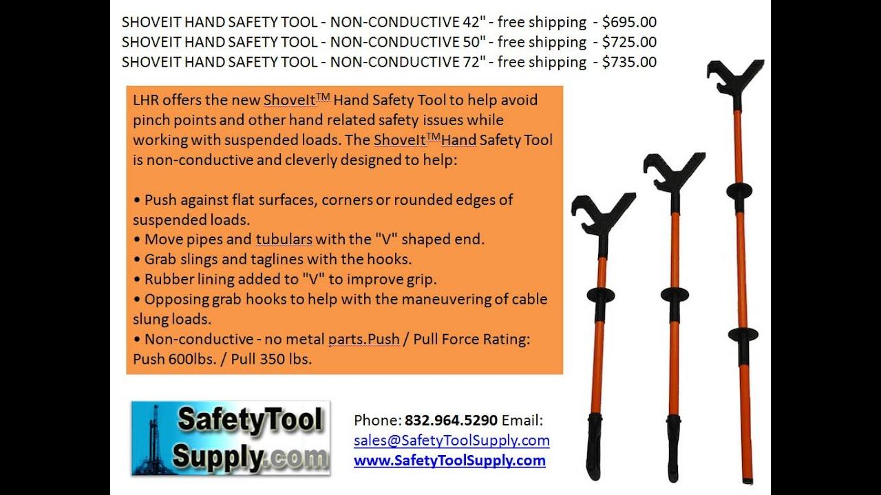 Shoveit Hand Safety Tool 42 50 72 Inch