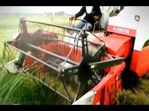 The KUBOTA Advanced Rice Farming System