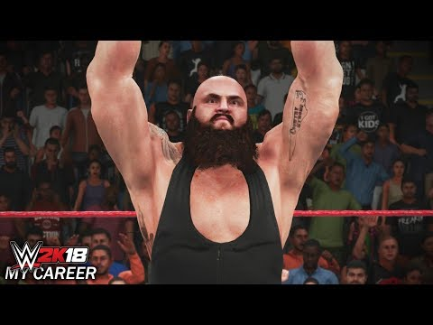 "WWE 2K18 My Career Mode - Ep 6 - ""ONE-ON-ONE WITH BRAUN STROWMAN!!"" [WWE 2K18 MyCareer Part 6]"