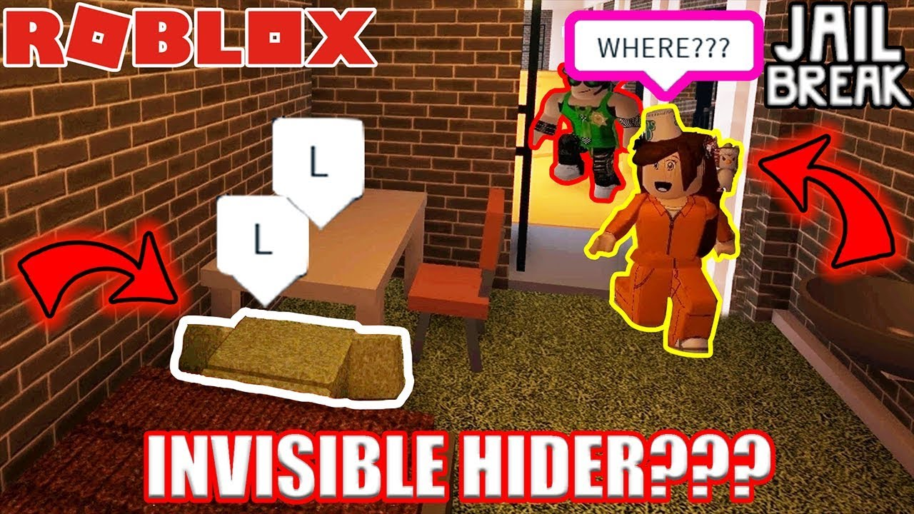 How To Be Invisible In Roblox Jailbreak 2019 Myusernamesthis Roblox Jailbreak Hide And Seek Free 75 Robux