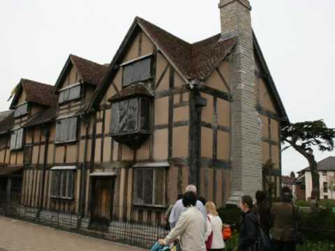 Stratford-upon-Avon, the home of William Shakespeare