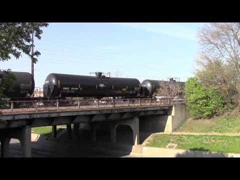 Union Pacific meet on the Grand Avenue viaduct, Ames, Iowa