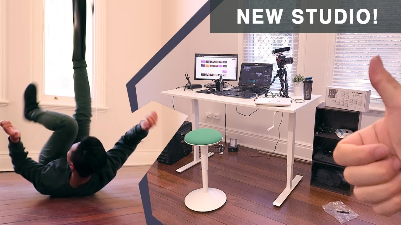 New studio with ikea furniture nilserik and skarsta youtube for Tutorial ikea home planner