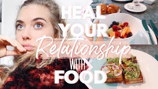 HEAL YOUR RELATIONSHIP WITH FOOD | NYC Travel Vlog ☆