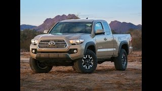 2018 Toyota Tacoma Capabilities Performance Safety Price Overview