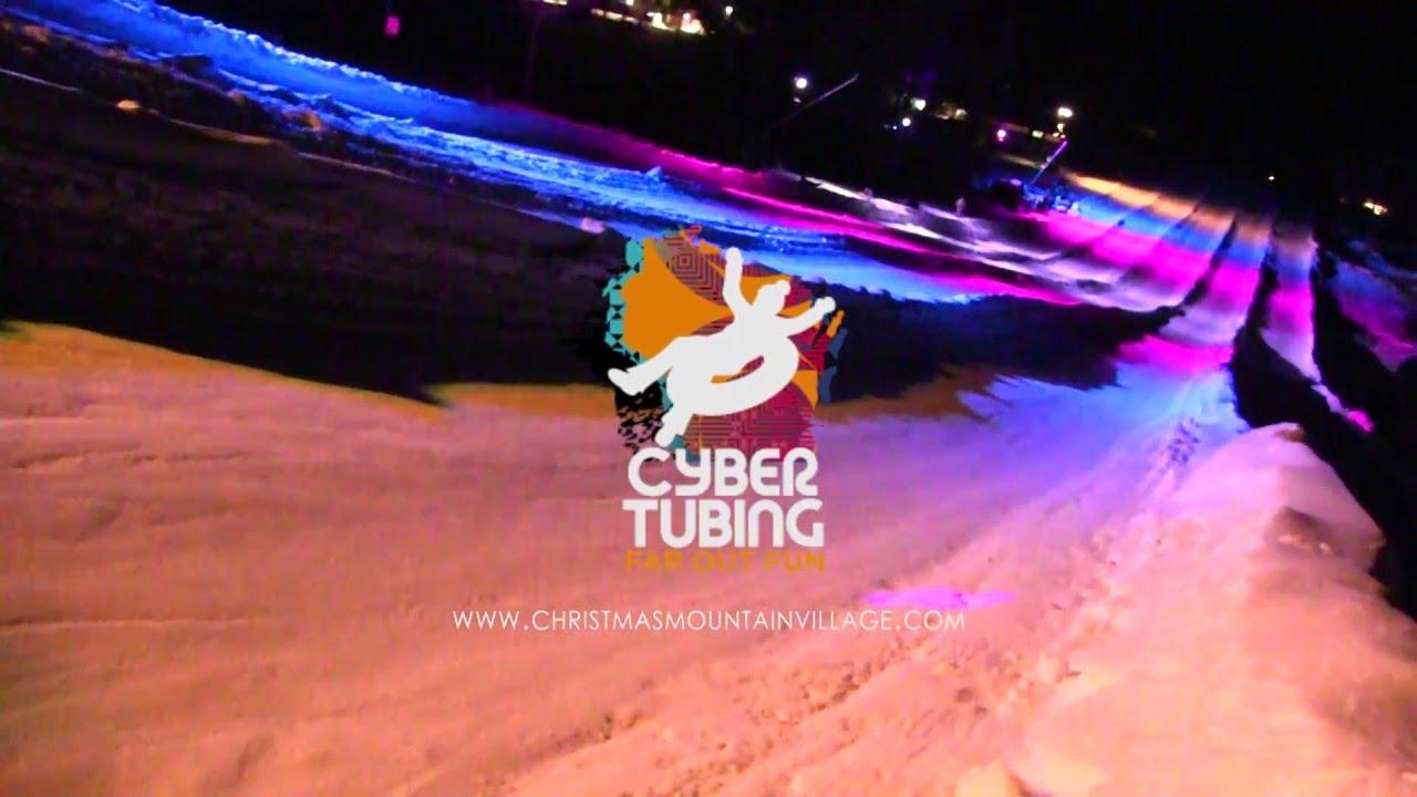 blizzard lighting presents cyber tubing youtube - Christmas Mountain Tubing