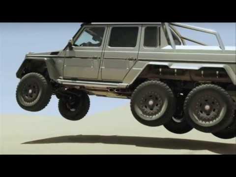 Mercedes benz espa a nuevo clase g 6x6 youtube for Mercedes benz 6x6 precio