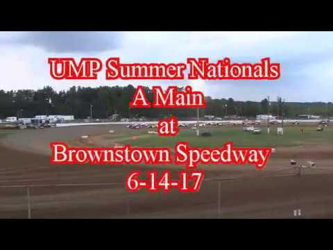 UMP Summer Nationals at Brownstown Speedway 6-14-17