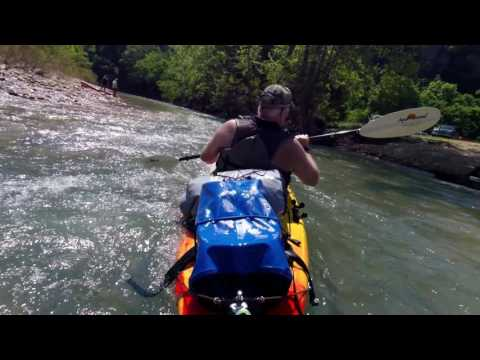"Buffalo River Kayak (Ponca - Pruitt) Part 1 May 9-10 ""17"