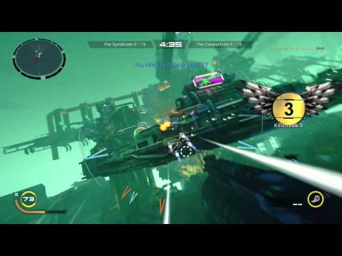 Strike Vector EX Skermish Mode Slum 405 gameplay