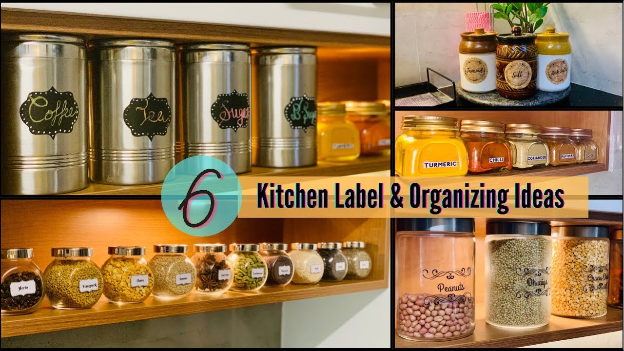 I will Show You How To Make Your Own Labels To Organise Your Kitchen 6 Kitchen Label Ideas GADAC DIY